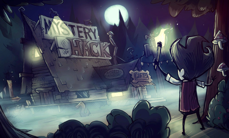 don't starve in Gravity falls
