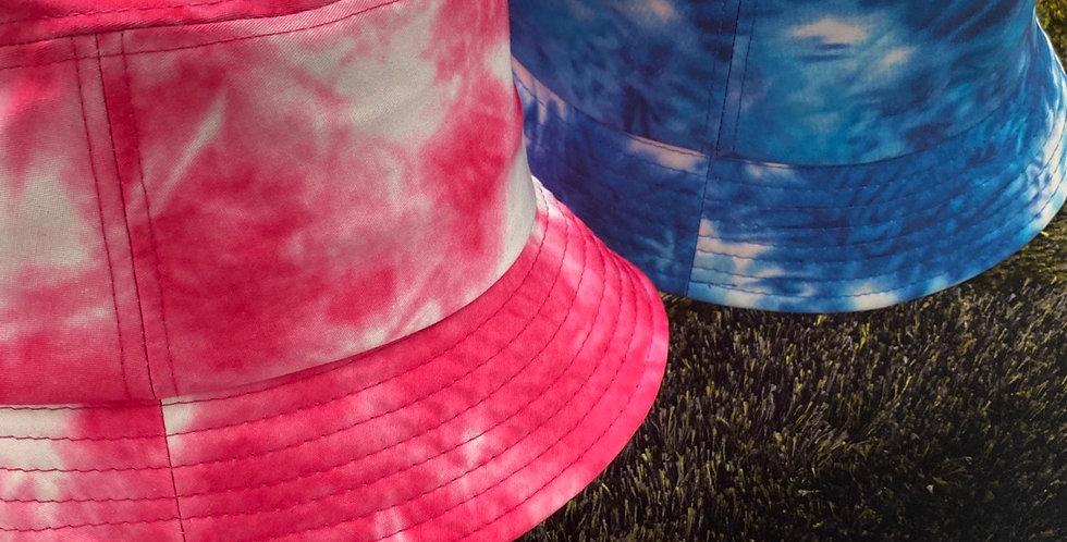 Tie dye bucket