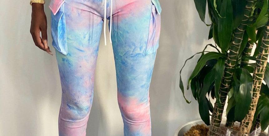 Cotton candy blue pant