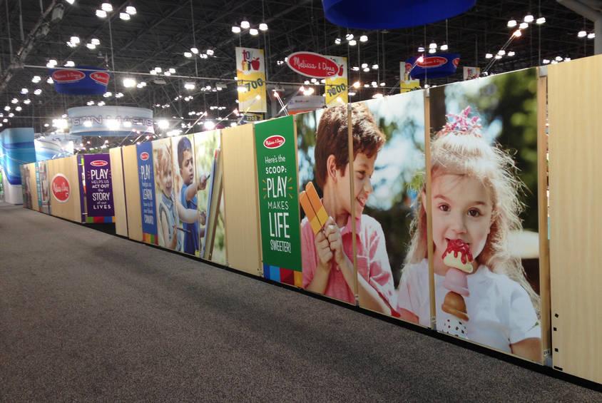 New York Toy Fair 2018 Graphic Panels