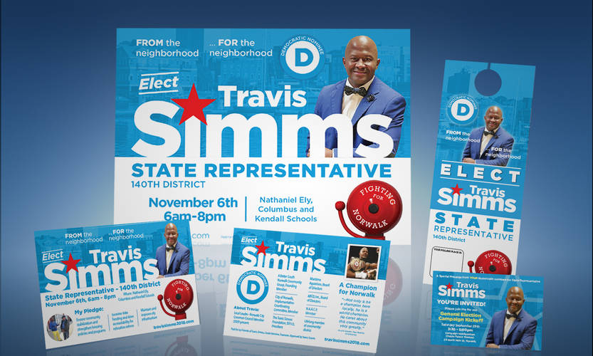 Travis Simms Campaign Materials-Post Nom