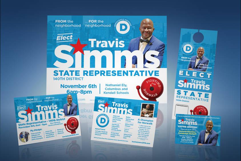 Travis Simms Campaign Materials-Post Nom
