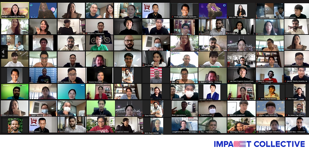 Impact Collective Announces Startups Selected for 2021 Asia Pacific Investment and Accelerator Program for the SDGs