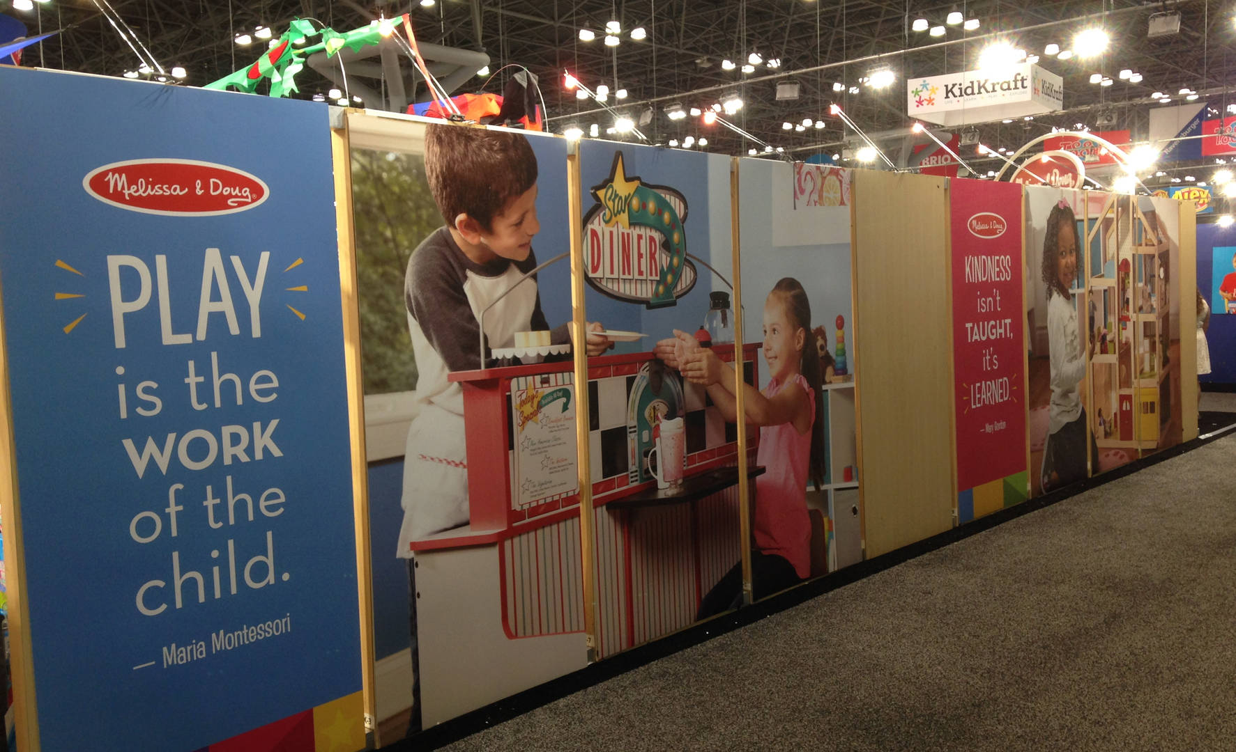 New York Toy Fair 2018 Graphic Panels