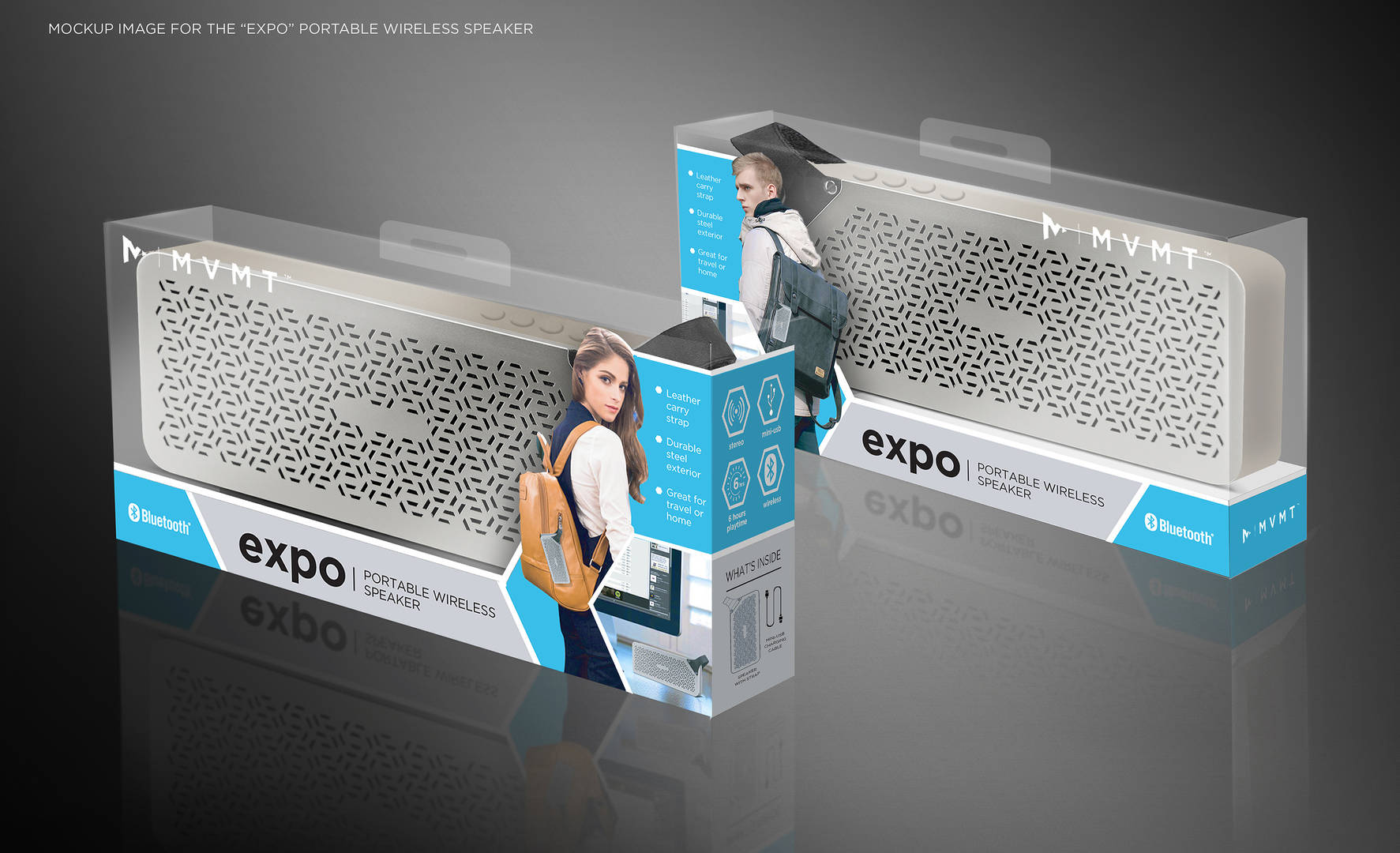 Expo bluetooth speakers