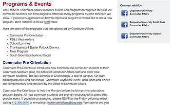 Duq Programs and Events.JPG