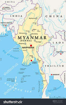 stock-vector-myanmar-political-map-with-
