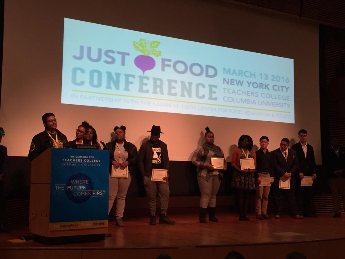 Youth Award Recipients