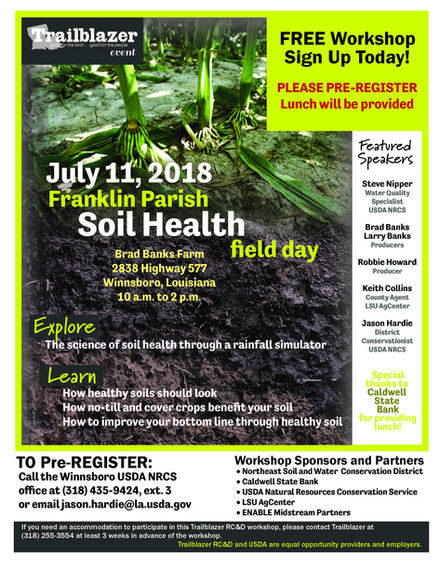 Franklin Parish Soil Health Field Day