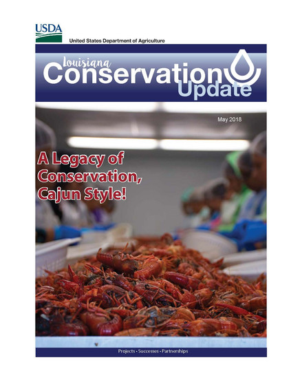 Louisiana Conservation Update - May 2018