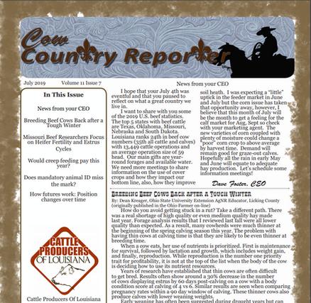 Cattle Producers of Louisiana