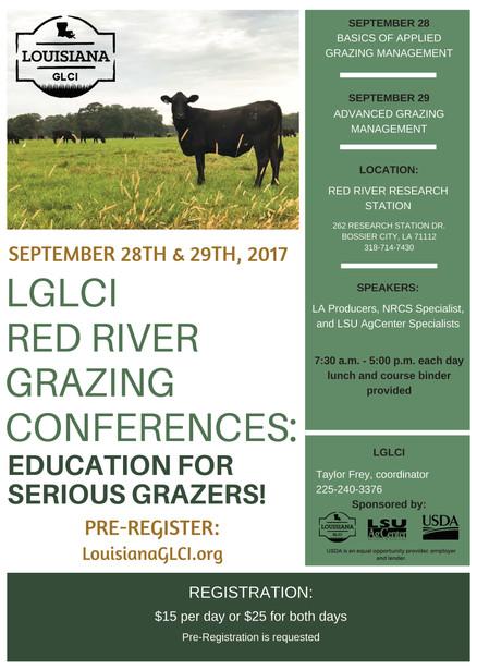LGLCI Red River Grazing Conferences