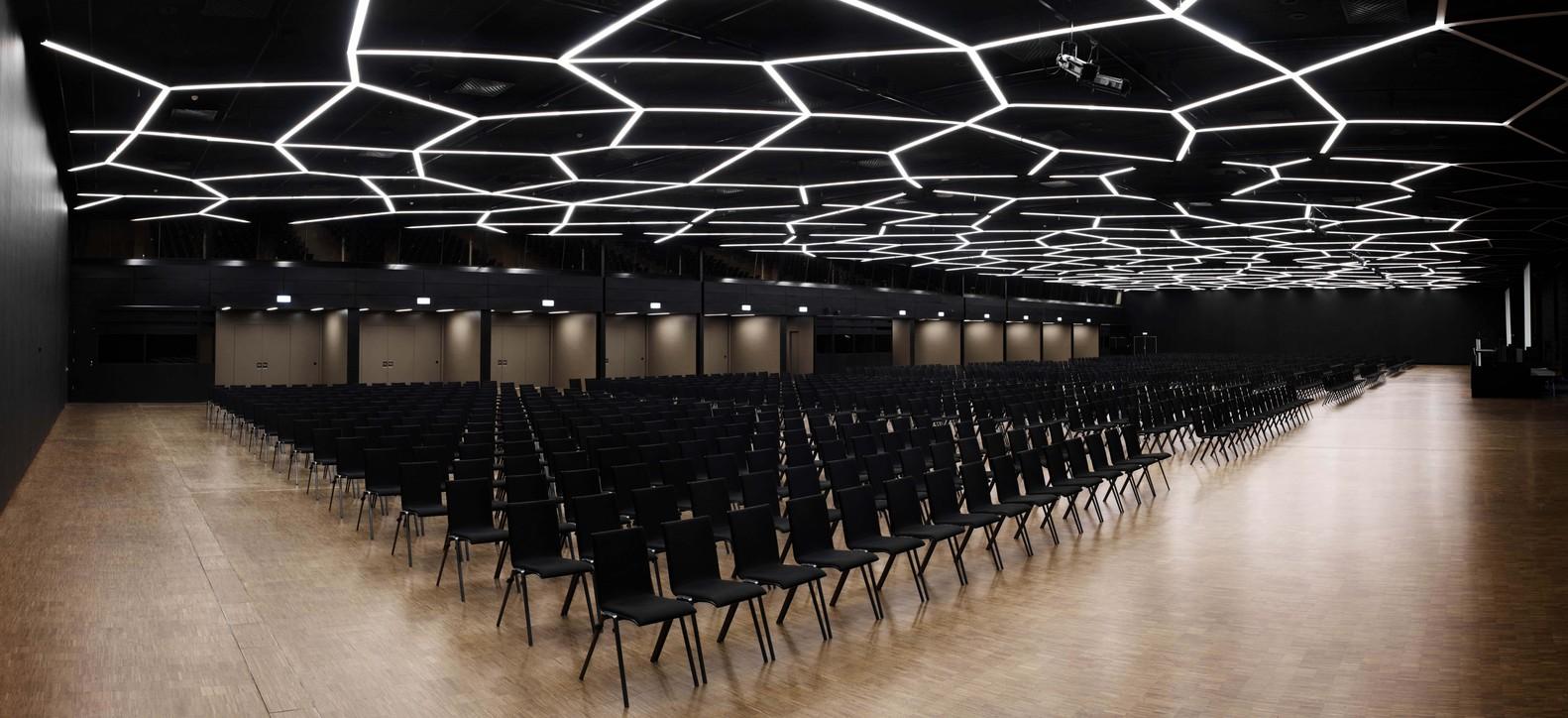 Palexpo Congrès - conceptions et développements de solutions en éclairage Genève