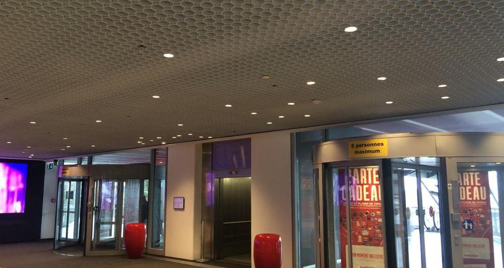 Centre Balexert - conceptions et développements de solutions en éclairage