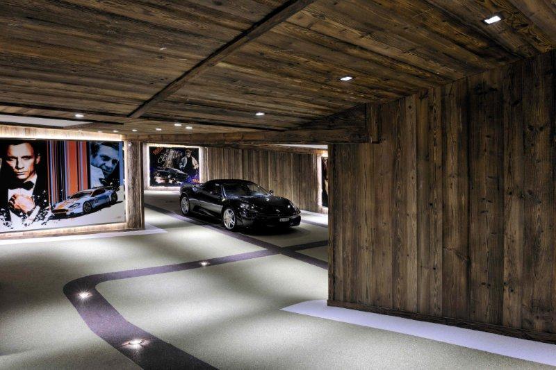 Chalet Brickell - conceptions et développements de solutions en éclairage à Genève