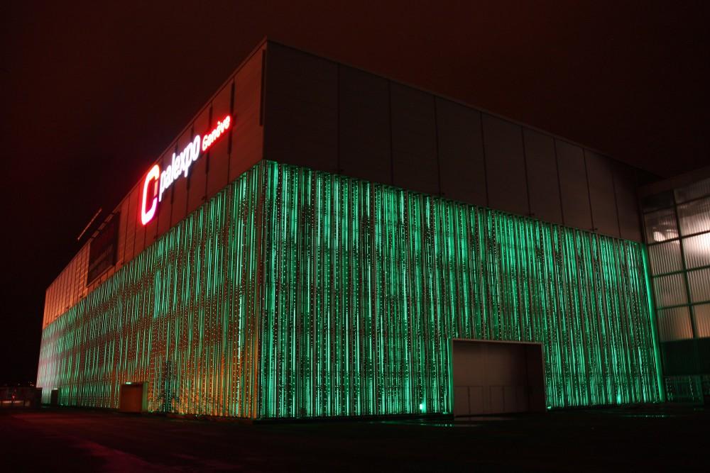 Palexpo Hall 6 - conceptions et développements de solutions en éclairage Genève
