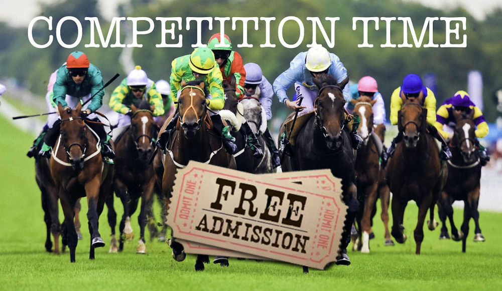 WIN A PAIR OF TICKETS TO A RACE MEETING OF YOUR CHOICE! CLICK HERE!