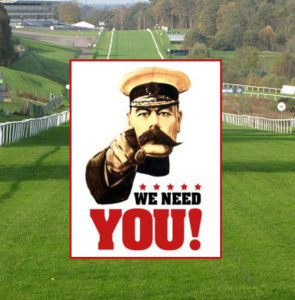 COULD YOU BE OUR NEXT RACING PUNDIT? APPLICATIONS CLOSE AT 8PM SUNDAY!