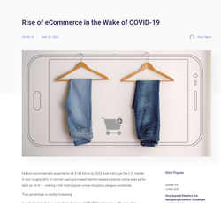 Rise of e-commerce