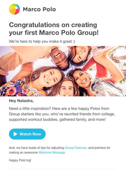 Group Support Email 2