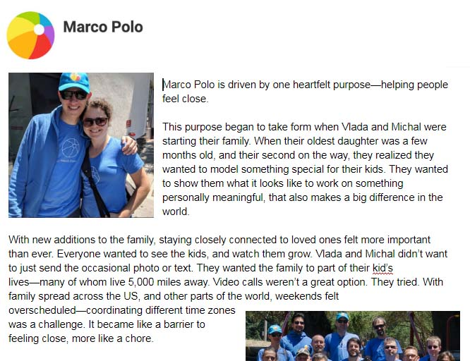 The Marco Polo Story