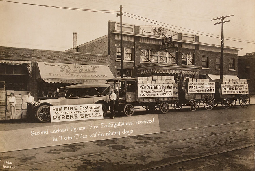 Image of the storefront from the early 1900s