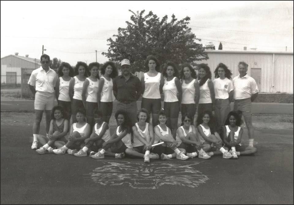 1991-1992 Tularosa HS Ladies Track Team