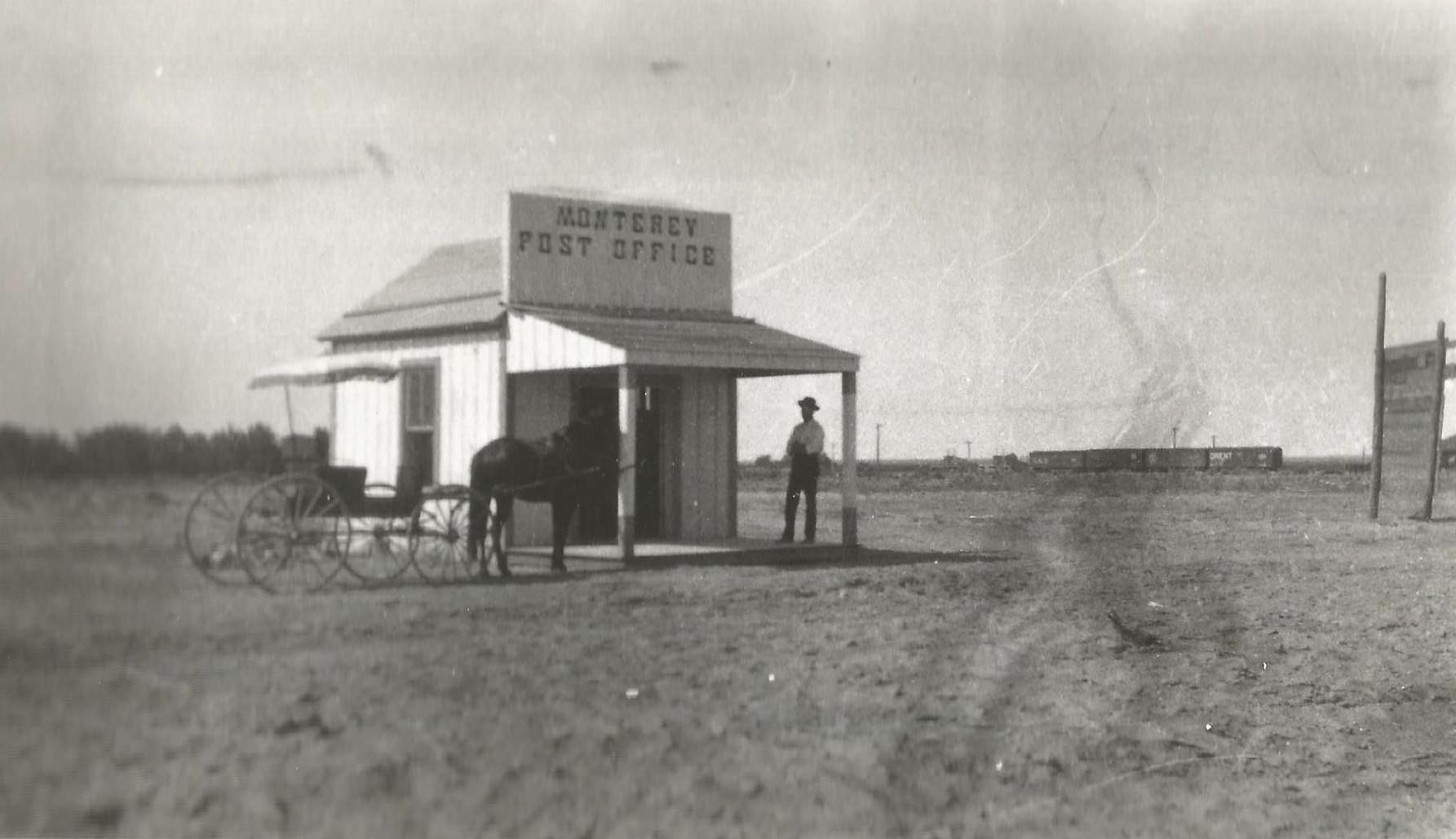 Monterey, New Mexico Post Office