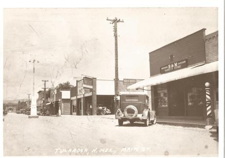 Looking East on Granado Street.