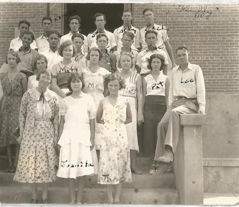 Tularosa Sophmore class of 1933.