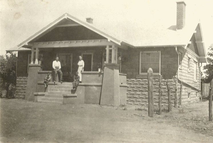 The Gilmore residence located on 1st & Granado streets.