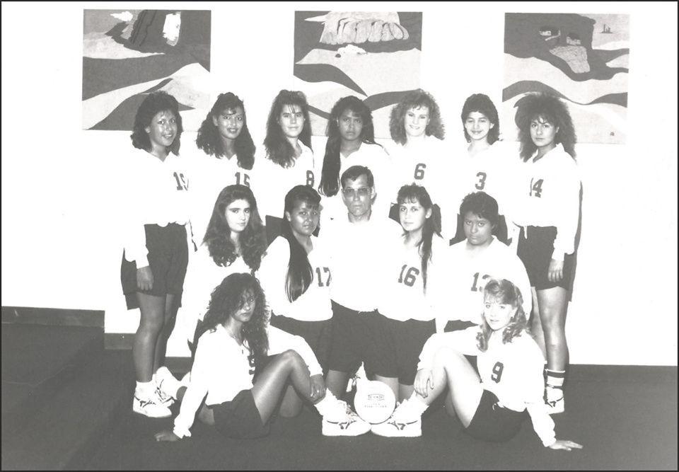 1991-1992 Season Tularosa Ladies Varsity Volleyball!