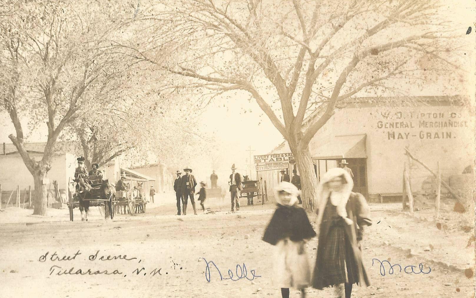 WD Tipton Company on Granado Street.