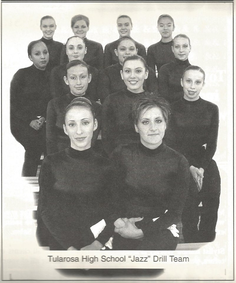 "Historic 2002 Tularosa High School ""Jazz"" Drill Team."