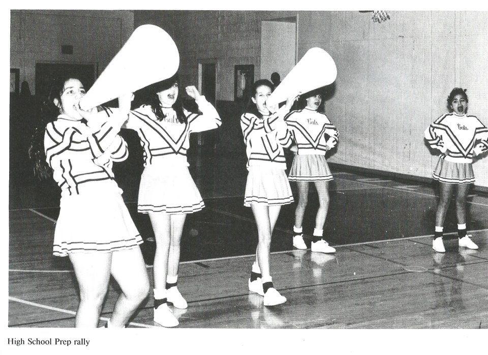 1993 Tularosa High School Cheerleaders