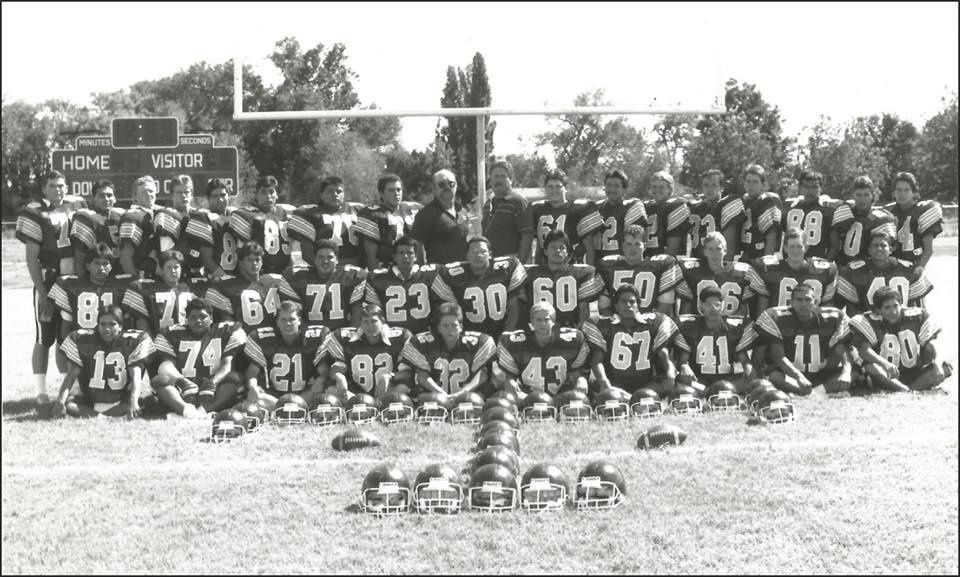 1991-1992 season Tularosa High School Football.