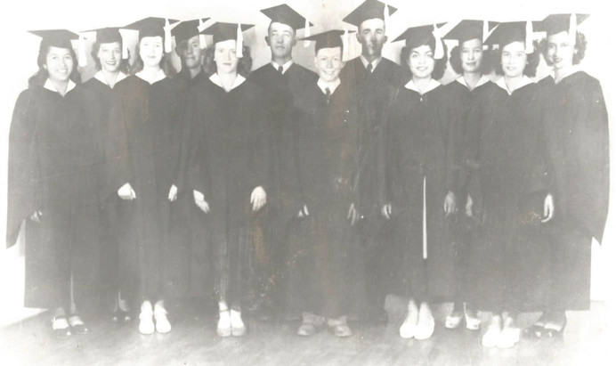 1945 Graduating Class of Tularosa High School