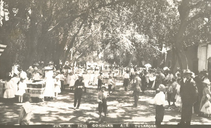 July 4, 1911 celebration in Tularosa.