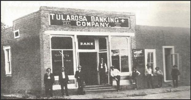 Tularosa Banking Company at 501 Granado Street.