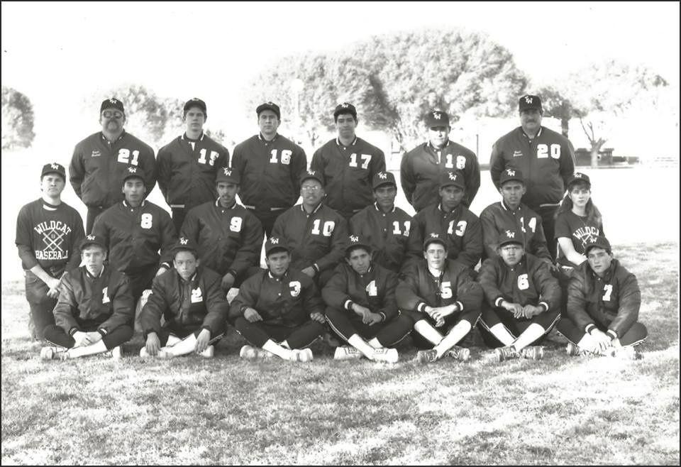 1991 Season Tularosa Wildcat Varsity Baseball team