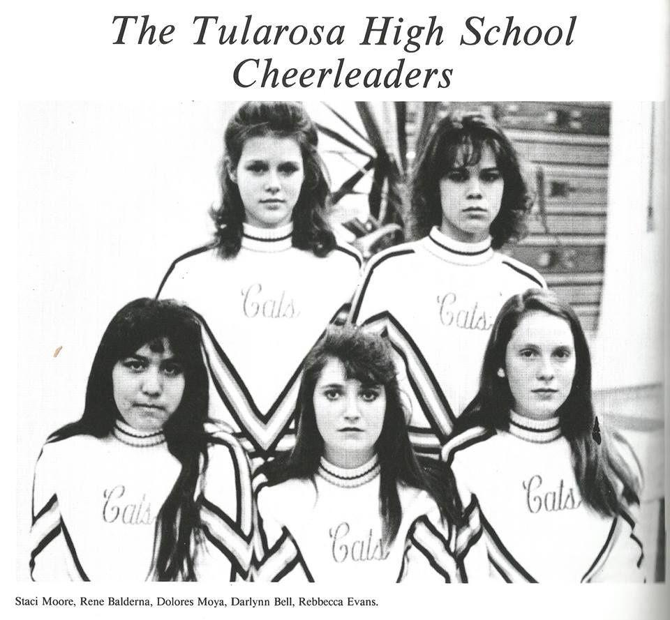1993 Tularosa High School Cheer Leaders