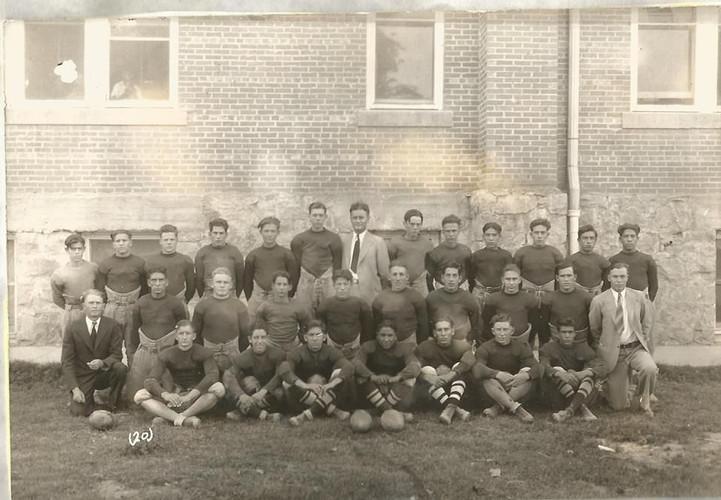 1933 Tularosa High School Football team