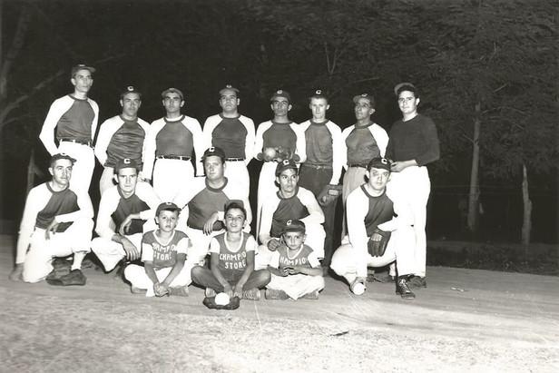 Tularosa's own 1950 softball team!