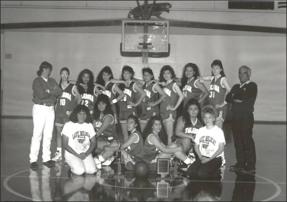 1991-1992 Season Tularosa Ladies Wildcats Basketball!