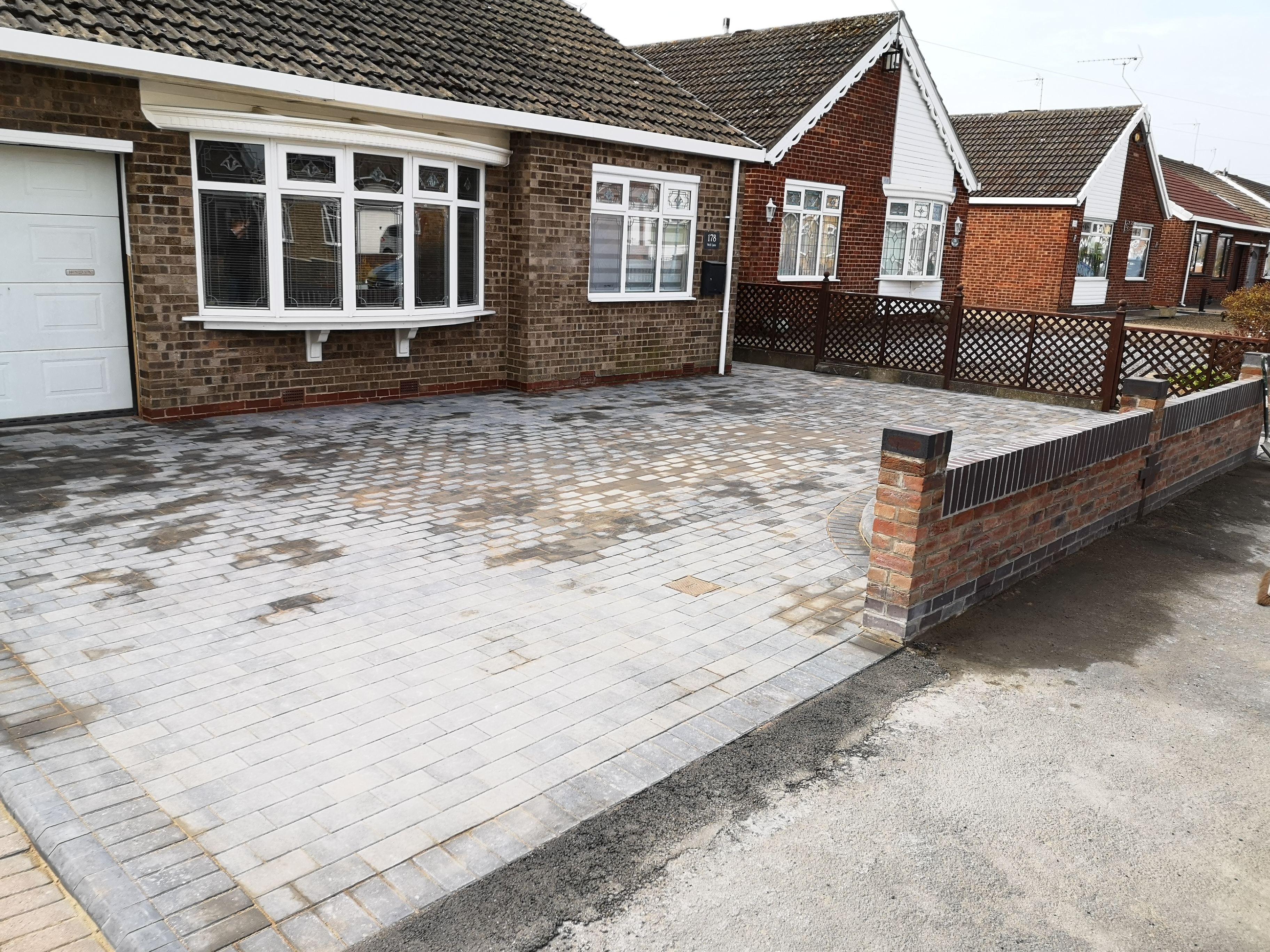 full paving job