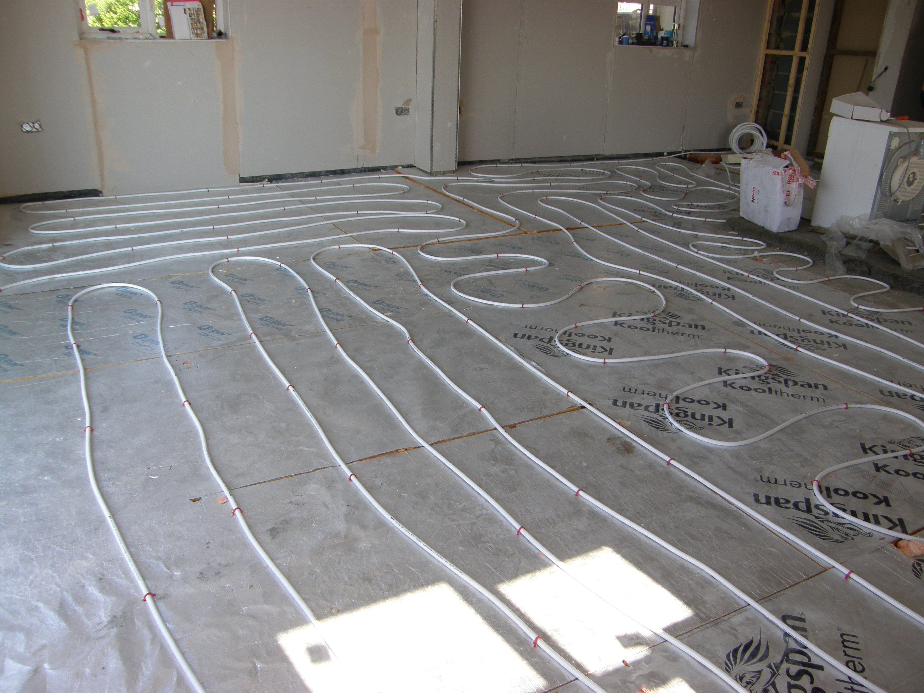 Under floor heating