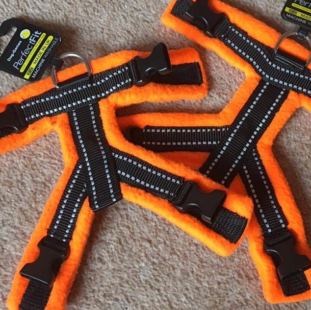 Fluorescent Orange Top Pieces