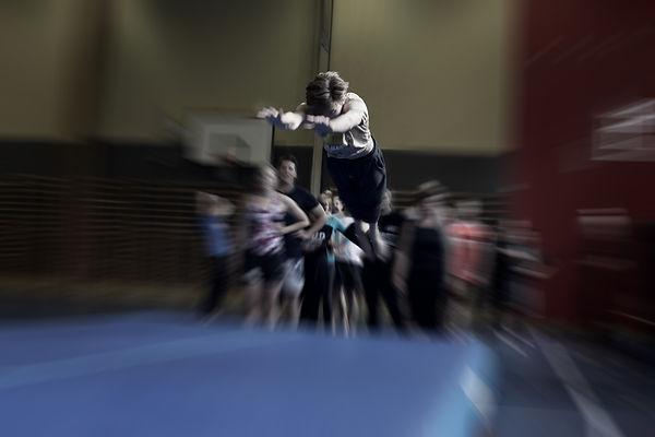 FredSIF tilbyder også springgymnastik