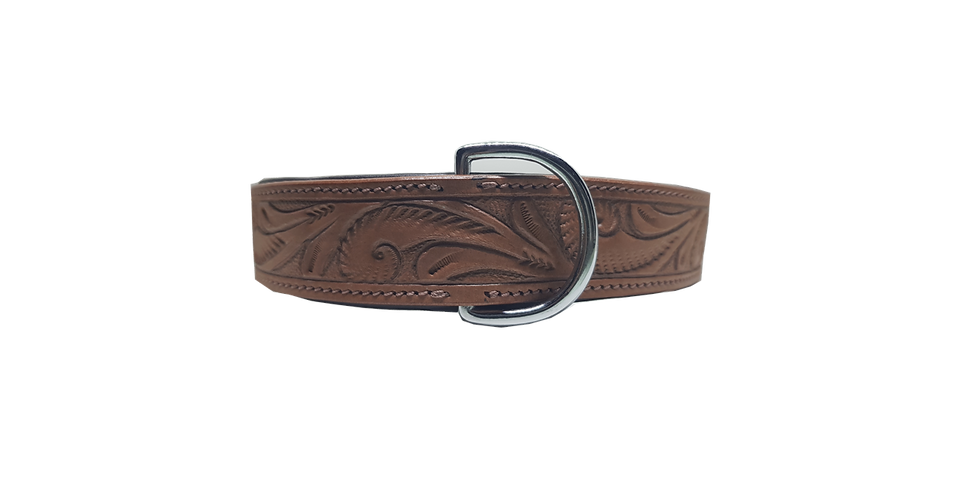 Bully Industries Leather Dog Collar Patton