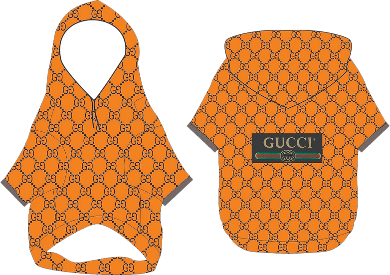 Gucci Inspired Dog Hoodie